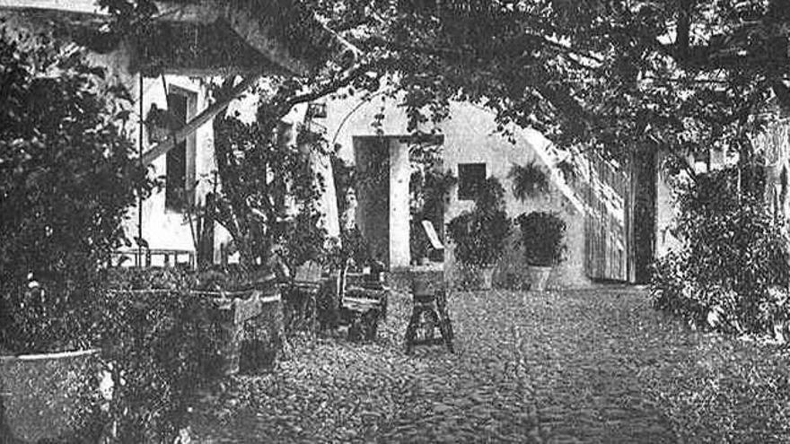 Las fotografías más antiguas del Concurso de Patios Córdoba, en la década de 1930