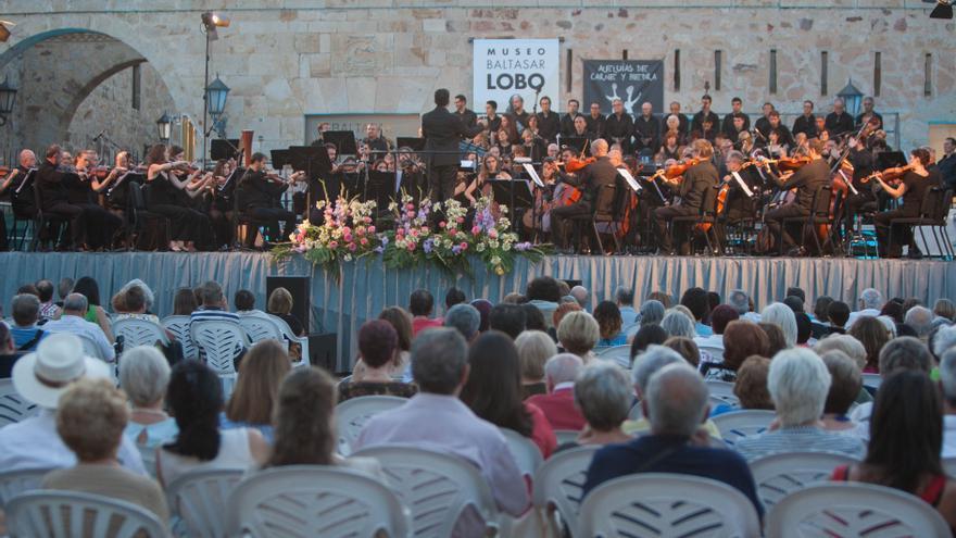 La música y la cultura llenan el verano de Zamora