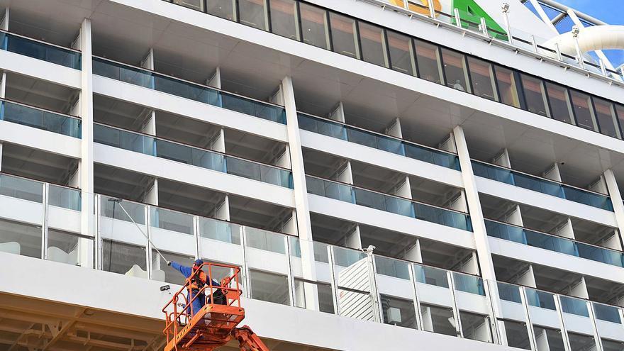 Canarias consolida el turismo alemán de cruceros con el retorno de AIDA