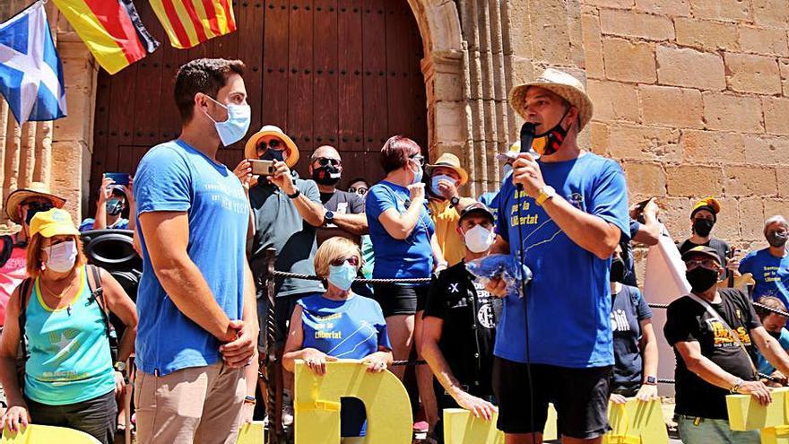 Jordi Turull culmina la Travessa per la Llibertat