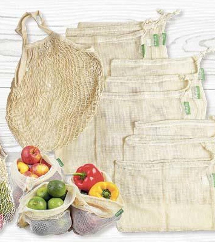 Regió7 t'ofereix deu bosses de malla reutilitzables per una compra sostenible