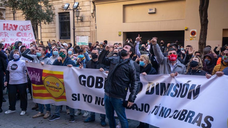 Delegación del Gobierno autoriza la manifestación de la Resistencia Balear