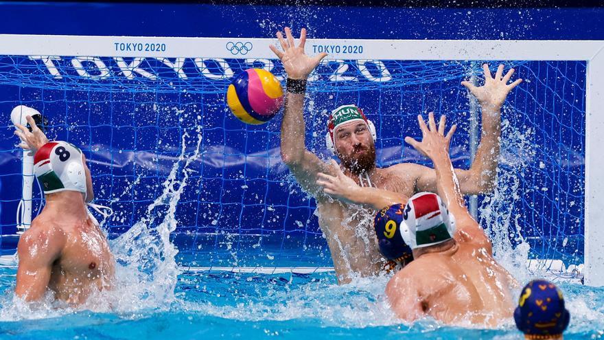 España se queda sin medalla en el waterpolo masculino
