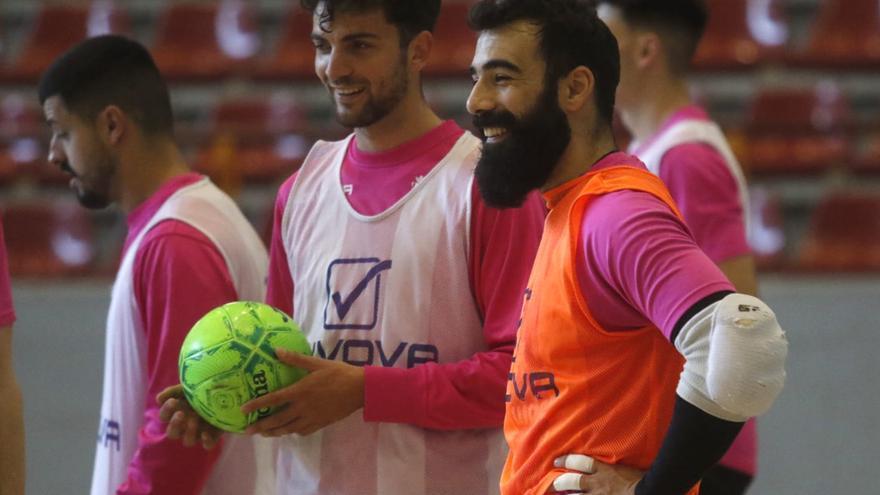 La seguridad bajo palos de Prieto, al servicio del Córdoba Futsal