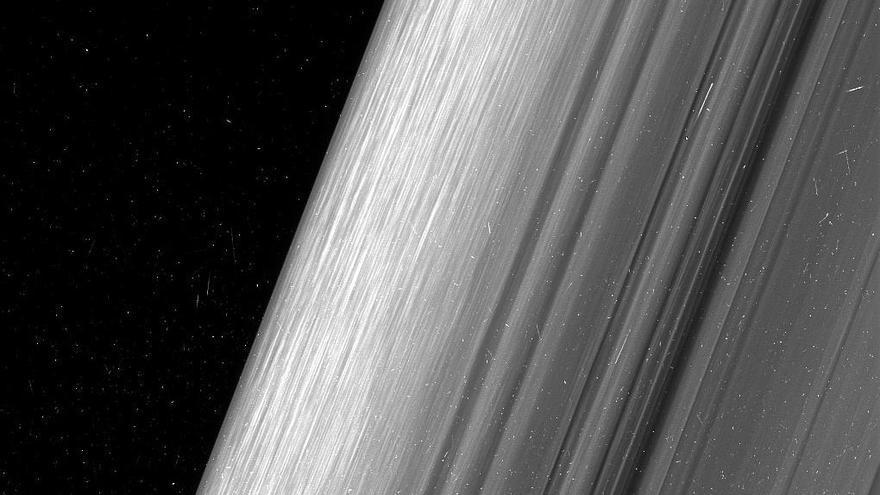 Los anillos de Saturno, como nunca se habían visto
