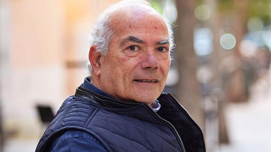 Vicente Bufí, delegado insular de fútbol en Eivissa y Formentera de la FFIB. | VICENT MARÍ