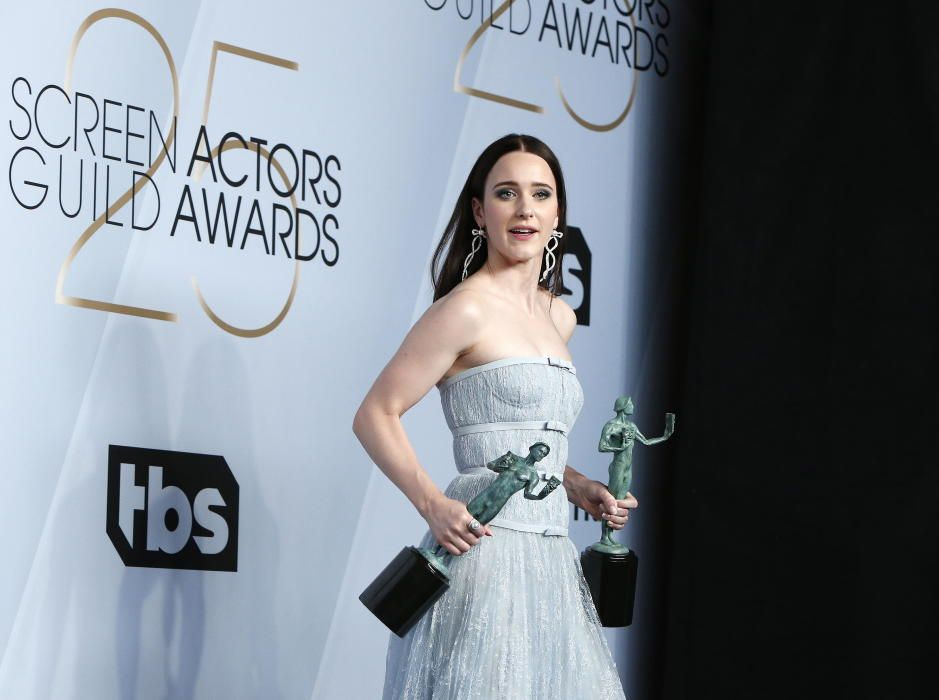 """Premios del Sindicato de Actores: Rachel Brosnahan, galardonada como mejor actriz y como miembro del mejor reparto por """"La maravillosa sra. Maisel"""""""