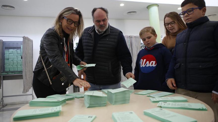 2-D Elecciones Andaluzas/Candidatos y autoridades ante las urnas