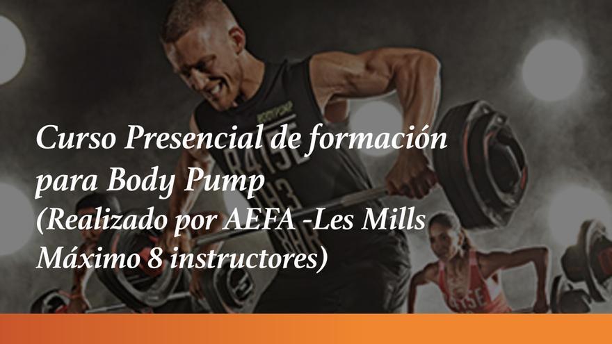 El Ayuntamiento organiza un curso presencial de formación para Body Pump