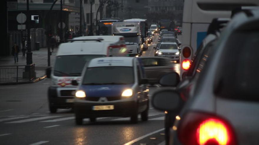 El nivel de ruido en Oviedo se desplomó desde 2013 por las limitaciones al tráfico