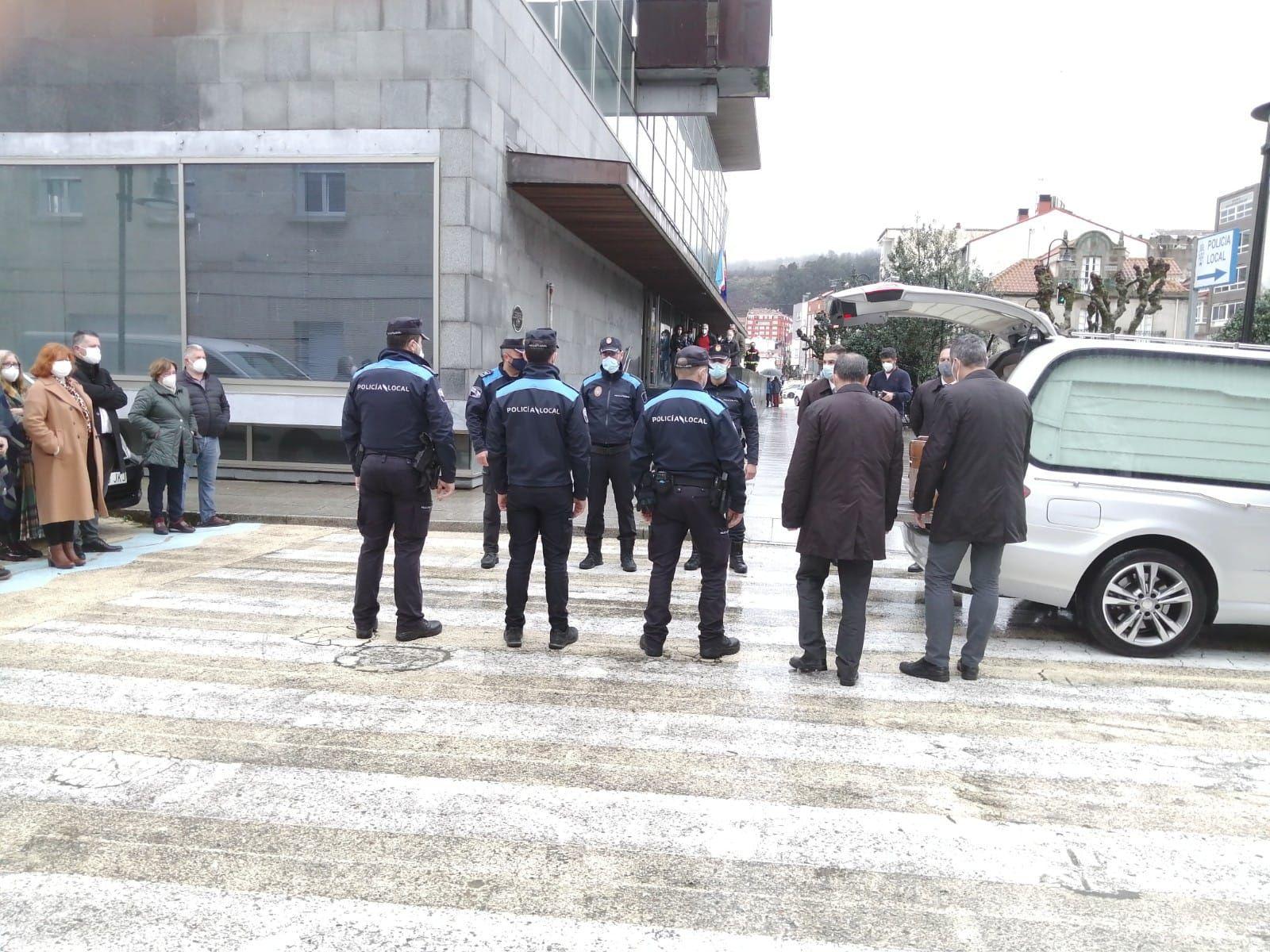 Cangas despide a su alcalde Xosé Manuel Pazos