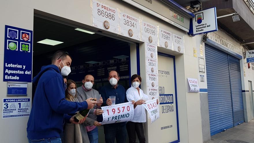 El primer premio de la Lotería del Niño reparte 4 millones en la Comunitat Valenciana