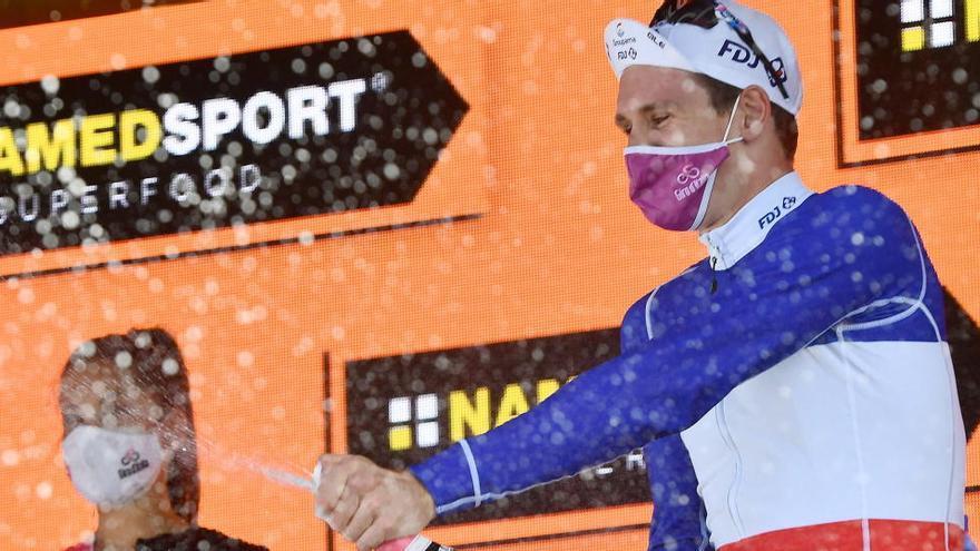 Ganador de la etapa 7 del Giro de Italia 2020: Arnaud Démare