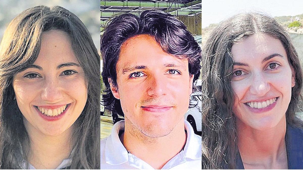 Ángeles Arzalluz-Luque, José Antonio Baena y Guillermina del Río, mejores notas de la Selectividad del 2011.
