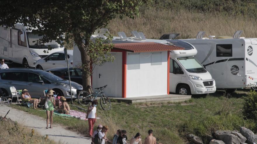 Cangas cierra el puesto de socorrismo de Areamilla por un contagio de COVID y tres confinados