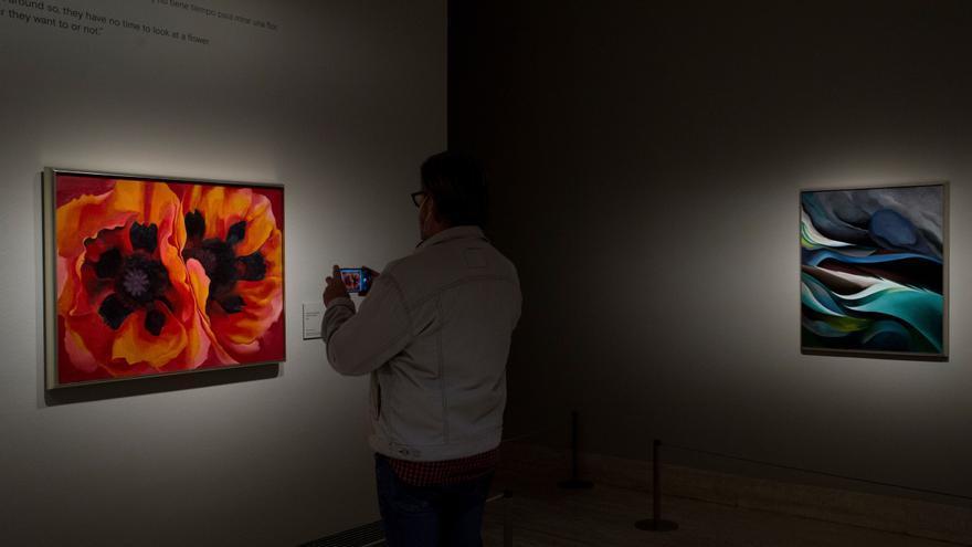 Georgia O'Keeffe, más allá de sus flores