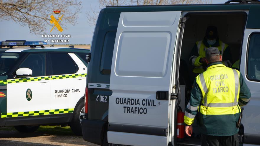 Un conductor da positivo en Zamora por cocaína, anfetaminas, metanfetaminas y cannabis