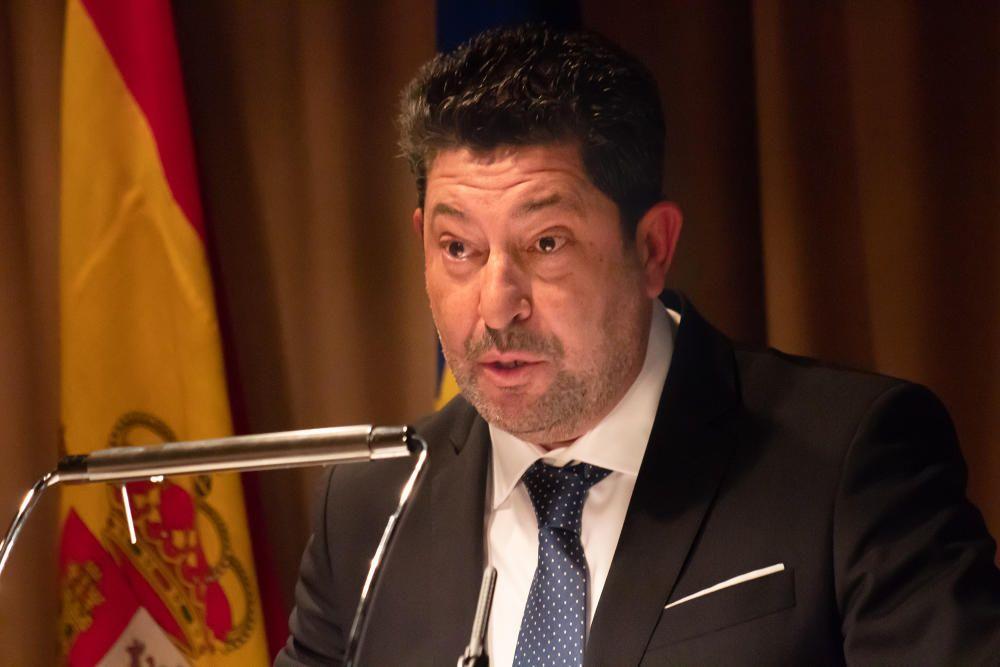 La I Noche de la Economía de la Cámara de Comercio de Orihuela se convierte en un acto de reivindicación de infraestructuras pendientes