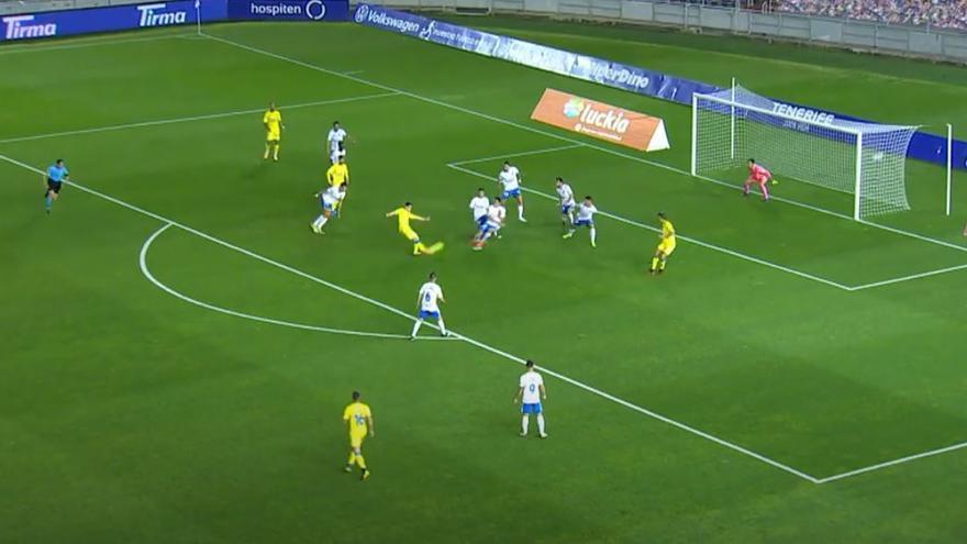 Videos de los goles y resumen del partido CD Tenerife 1 - 1 UD Las Palmas