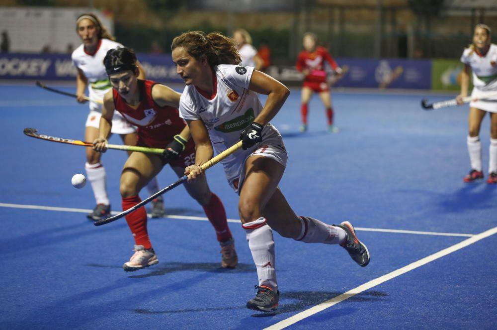 Lola Riera, hockey hierba