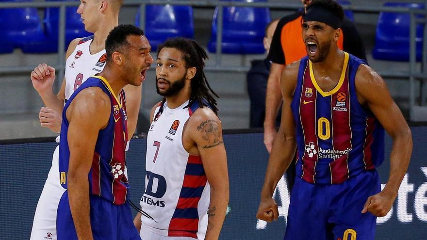 El Barcelona anula al Baskonia