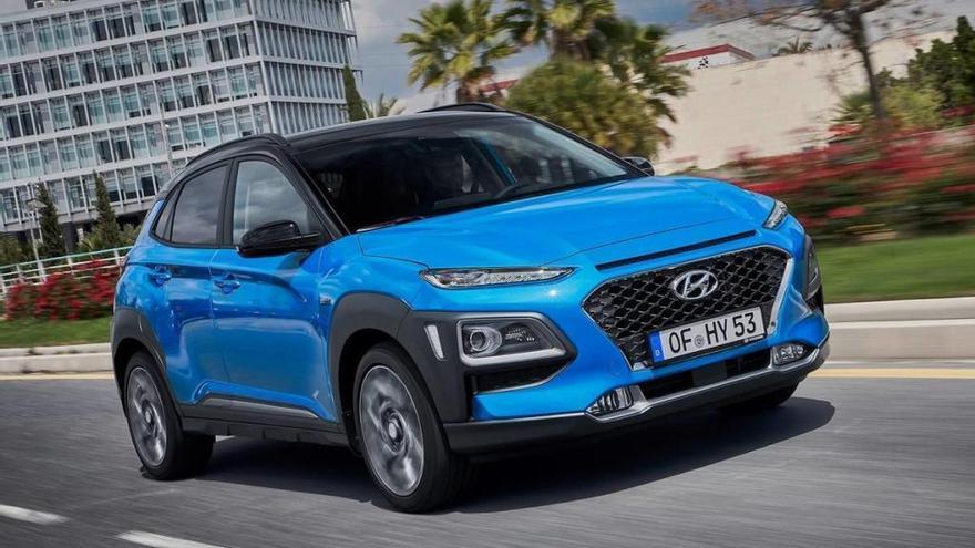 Hyundai Kona hybrid, tecnologia eficient