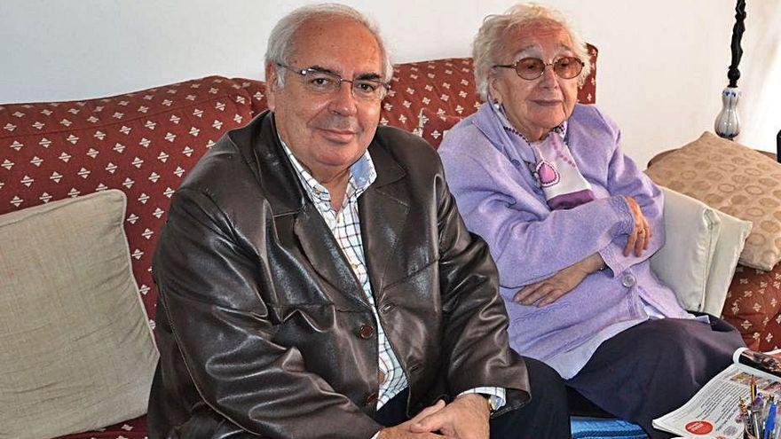 Muere a los 108 años la madre de Areces tras una vida dedicada a la docencia y los suyos