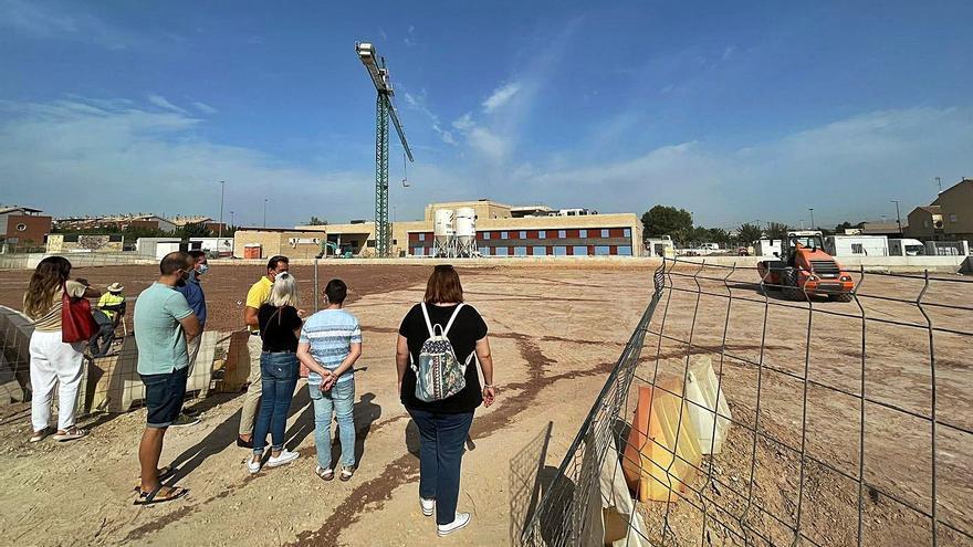 Algezares tendrá pista de minibasket, fútbol 8 y skate en primavera