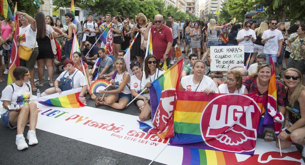 El orgullo anima a defender los derechos