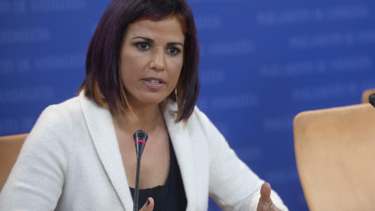 La diputada andaluza no adscritaTeresa Rodríguez.