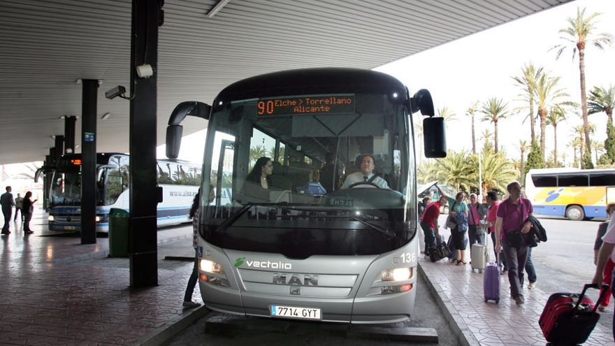 Así va a cambiar el servicio de bus de Elche