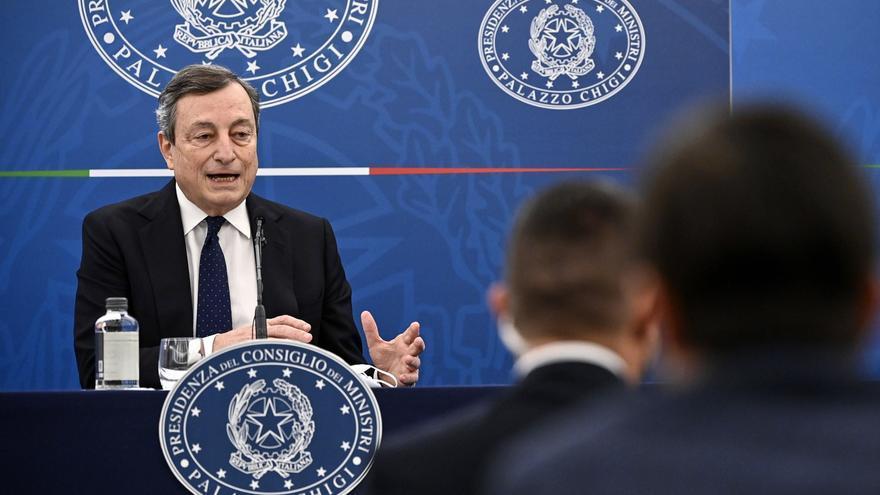 El primer ministro italiano Mario Draghi se vacunará con AstraZeneca