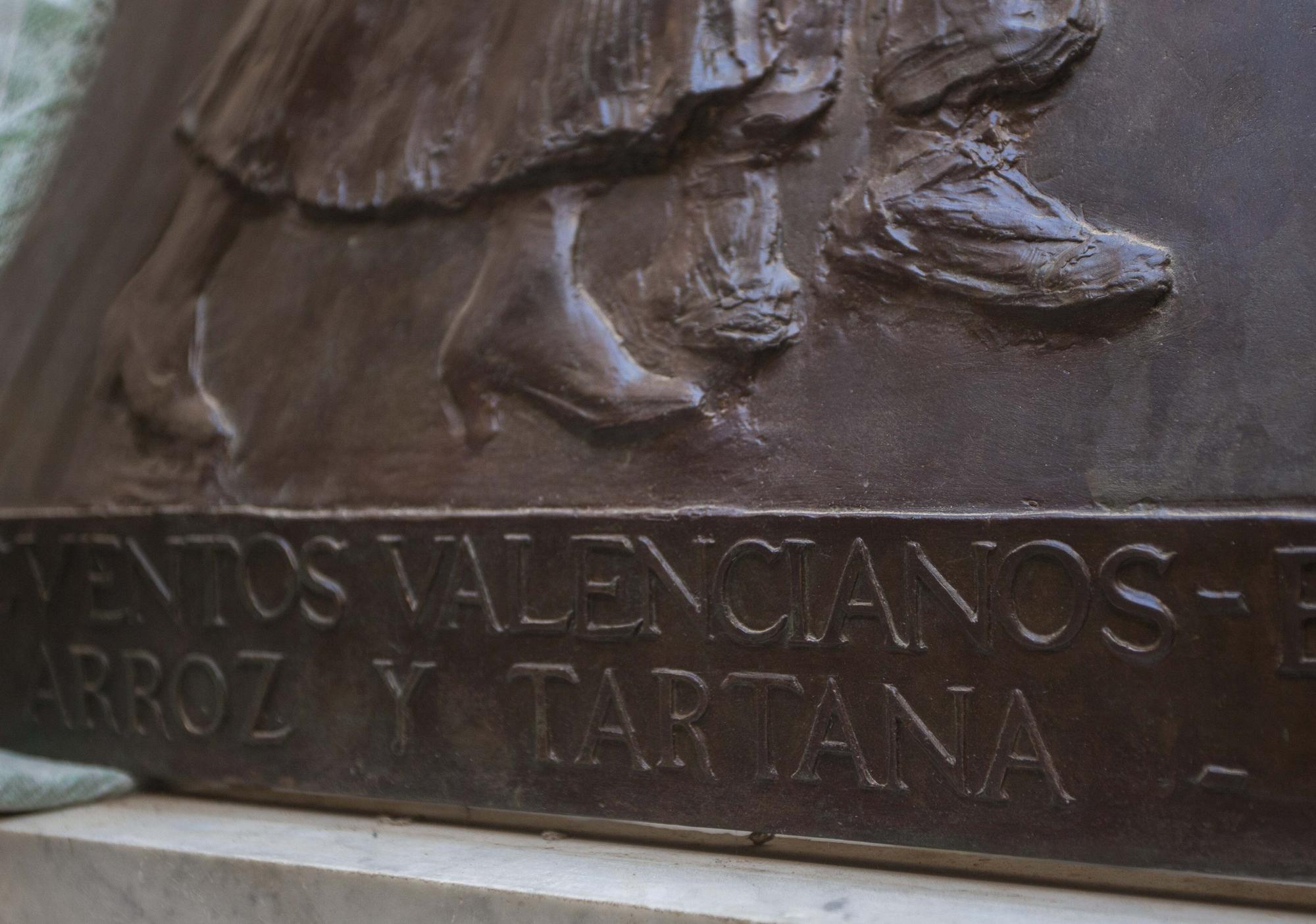 Así es el sarcófago de Blasco Ibáñez