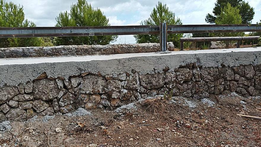 El Consell restaurará el 'marge' que dañó en la carretera entre Pollença y Alcúdia