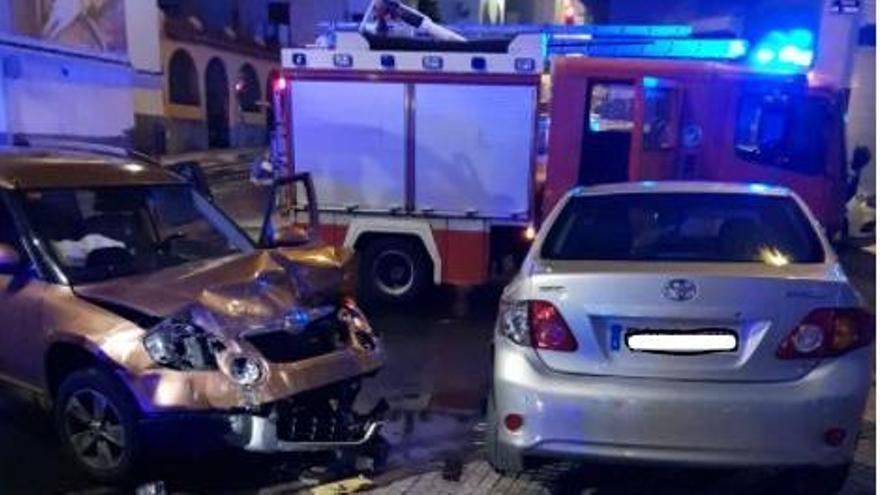 Un herido grave en un choque entre dos vehículos en Las Palmas de Gran Canaria