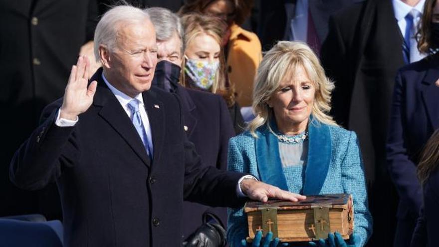 Joe Biden ya es el 46ª presidente de los Estados Unidos