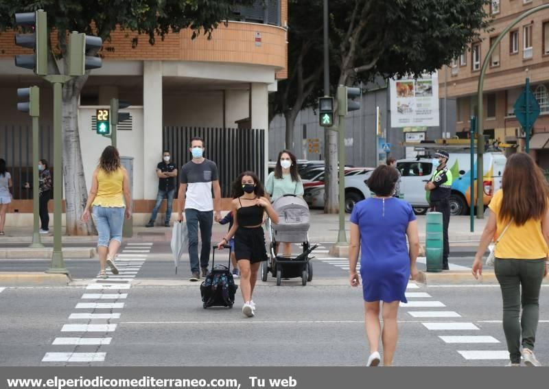 Así ha sido la vuelta al cole del 'covid' en Castellón