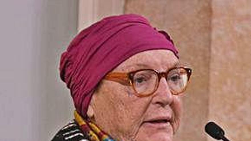 Mor Diana Garrigosa, esposa                            de l'expresident Pasqual Maragall