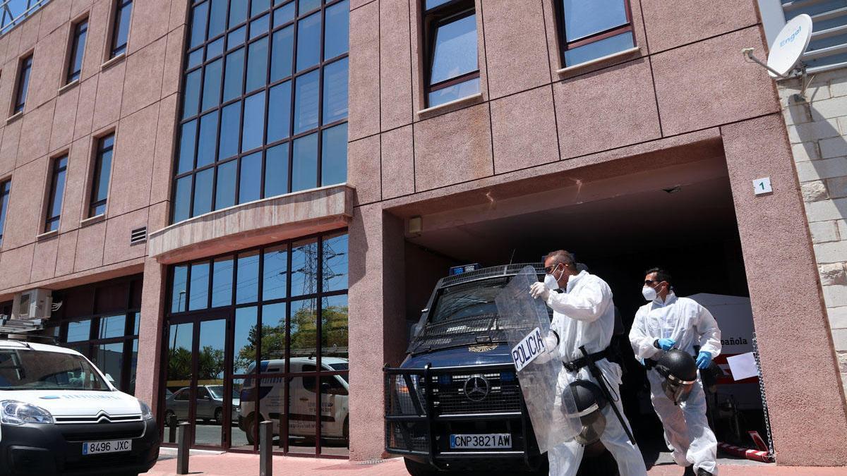 El centro de Cruz Roja afectado está controlado desde que se detectó este brote de coronavirus.