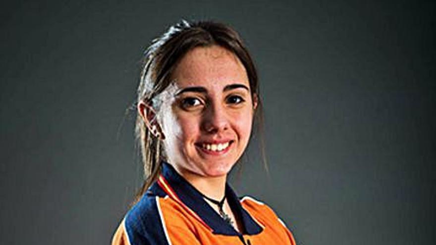 Gloria Fernández Caballero inicia la preparación para el Europeo de tiro olímpico