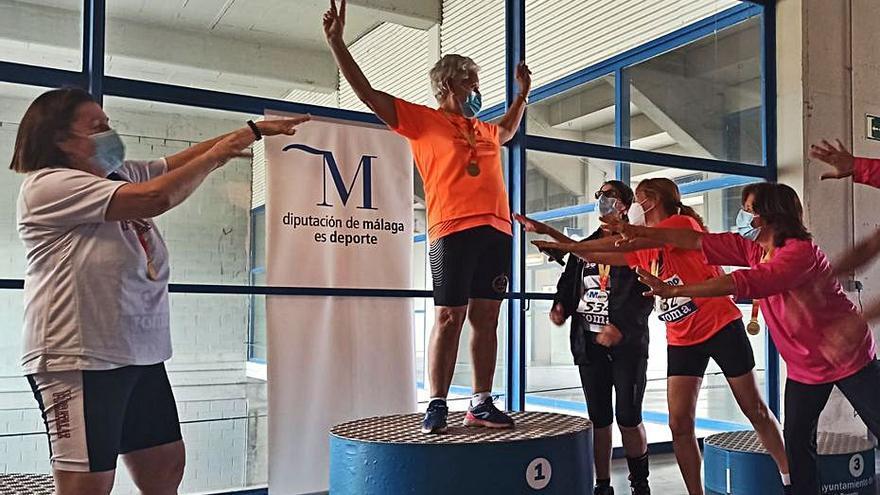 El atletismo regional brilla en el Campeonato de España Máster