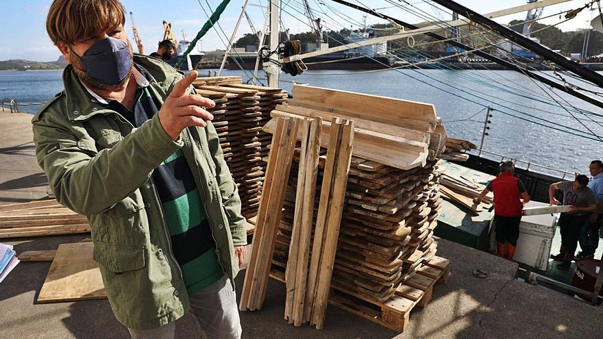 """Los armadores de Avilés navegan rumbo a las Azores: """"Esperamos volver en 15 días"""""""