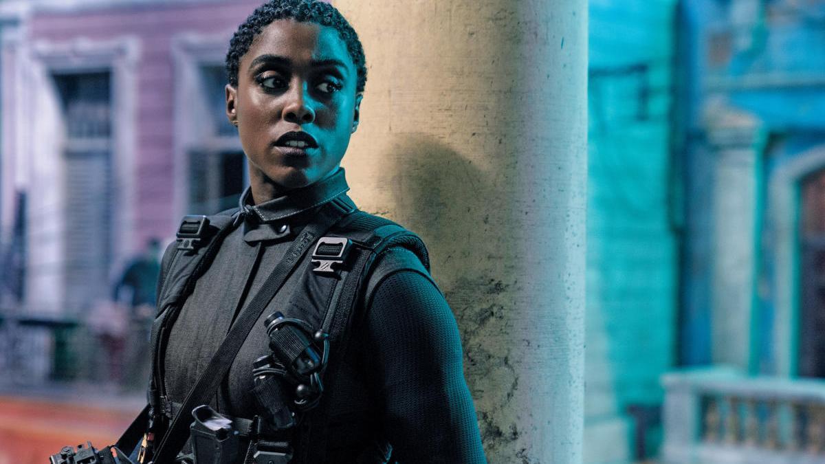 Lashana Lynch como la nueva agente 007.