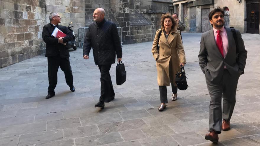 L'exambaixador d'Espanya a Paraguai arriba al Departament d'Exteriors en aplicació del 155