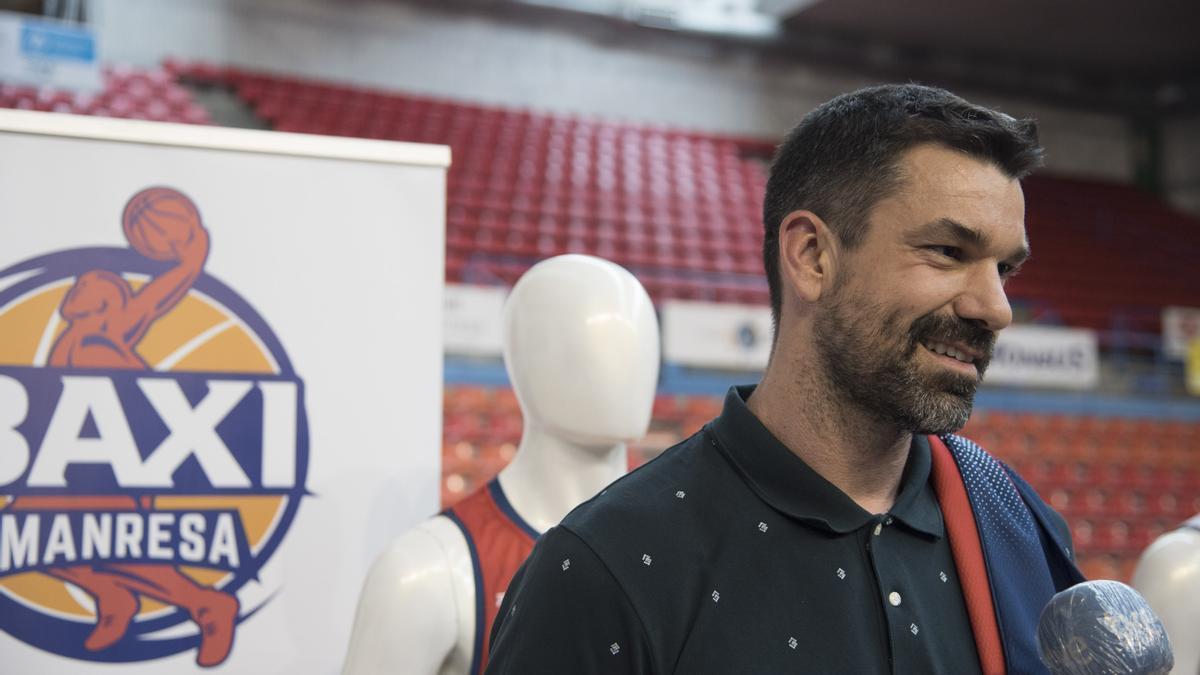 Rafa Martínez, jugador del Baxi Manresa