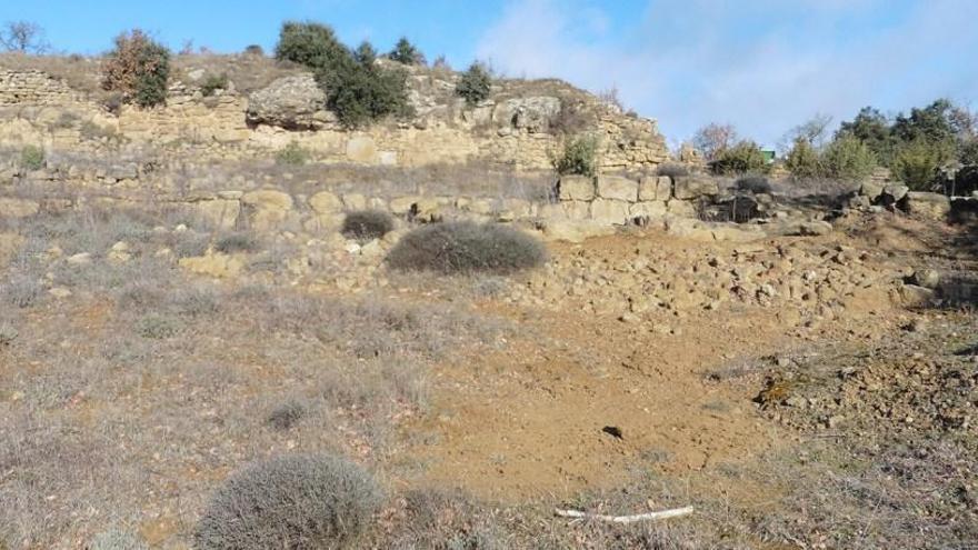 El jaciment del Serrat dels Moros de la Codina és declarat Espai de Protecció Arqueològic