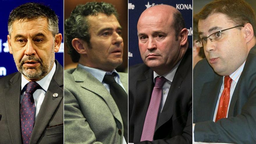 Detenidos Bartomeu y otros directivos del Barça por su vinculación con el 'Barçagate'