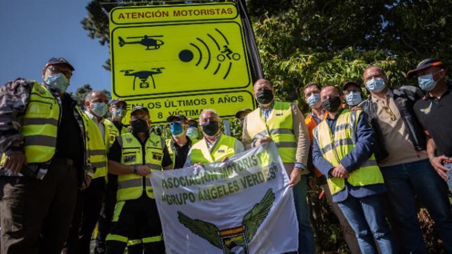 Tamaimo, La Chiquita o Los Loros, de las vías con más riesgo del país para moteros
