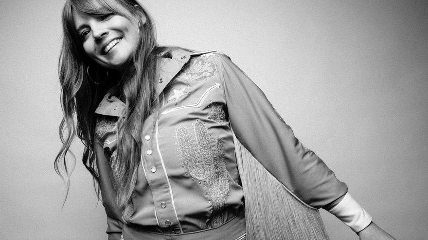 La cantante estadounidense Courtney Marie Andrews actúa en Ourense