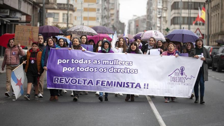 A Estrada clama por la igualdad